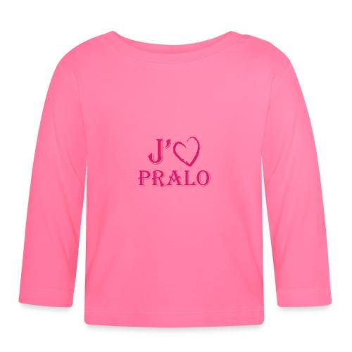 j aime pralo - T-shirt manches longues Bébé
