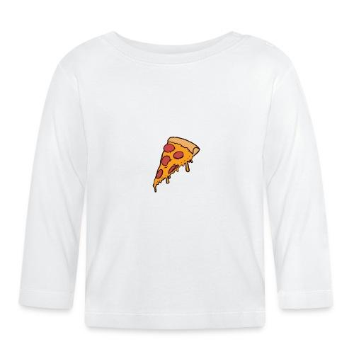 Pizza - Camiseta manga larga bebé