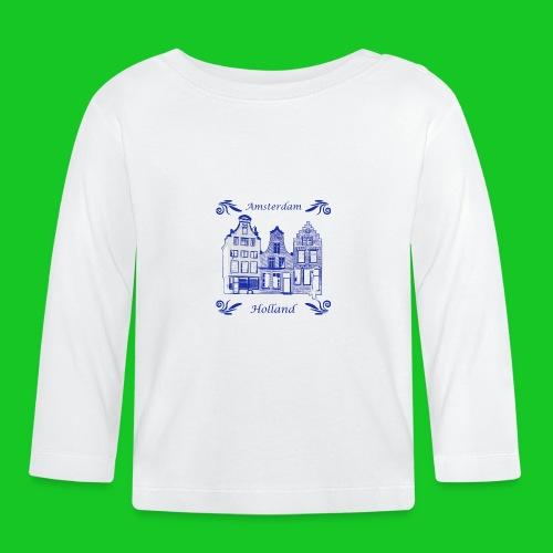 Holland Grachtenpanden Delfts Blauw - T-shirt