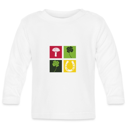 Just my luck Glück - Baby Langarmshirt