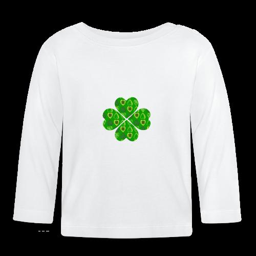 Glücksbringer Kleeblatt - Baby Long Sleeve T-Shirt