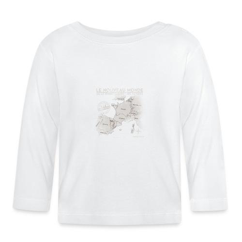 euroregions BLANC - T-shirt manches longues Bébé