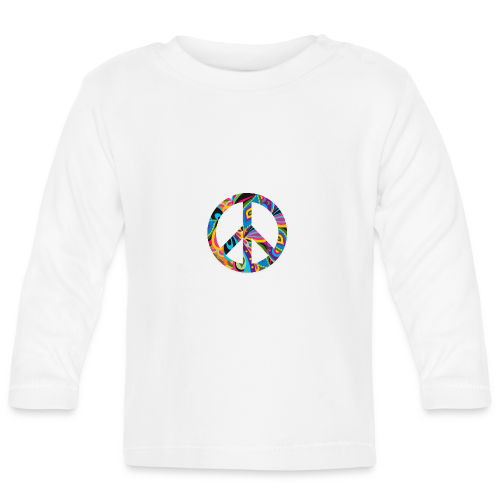 70s vintage hippie - Baby Long Sleeve T-Shirt