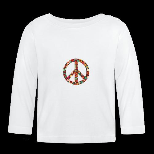Flowers children - peace - Baby Long Sleeve T-Shirt