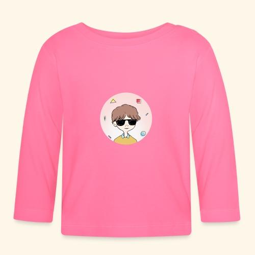 Boy with RayBan 90's Version - T-shirt manches longues Bébé