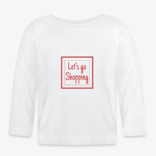 Let's go shopping - Maglietta a manica lunga per bambini