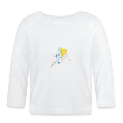 a girl and a bird - T-shirt manches longues Bébé