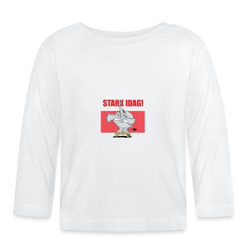 Stark idag - Långärmad T-shirt baby