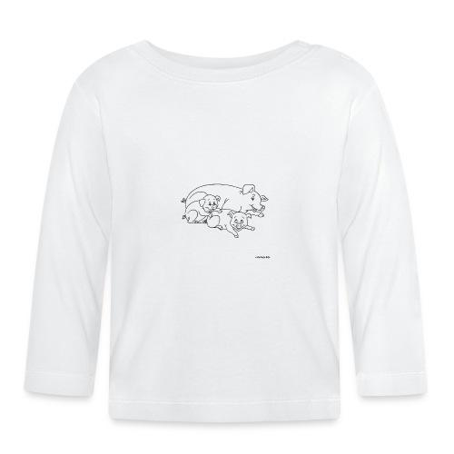 Cochon de lait. - T-shirt manches longues Bébé