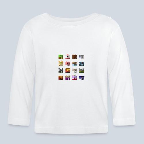 A Planet of Mine Animals - T-shirt manches longues Bébé