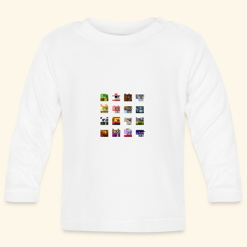 A Planet of Mine Animals - Baby Long Sleeve T-Shirt