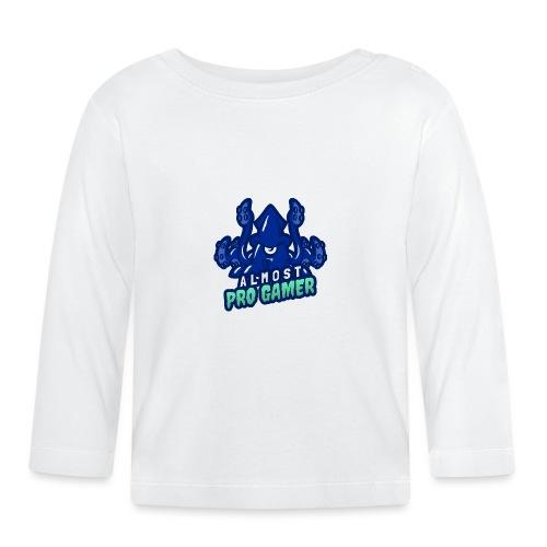 Almost pro gamer BLUE - Maglietta a manica lunga per bambini