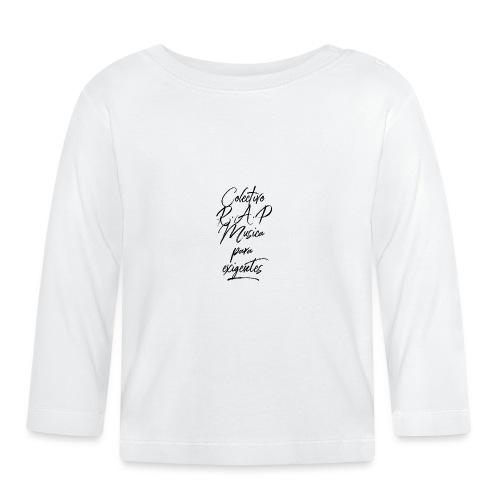 SOLO PARA AMANTES DEL RAP// Colectivo R.A.P - Camiseta manga larga bebé