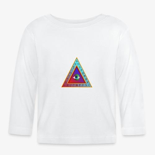 Dreieck - Baby Langarmshirt
