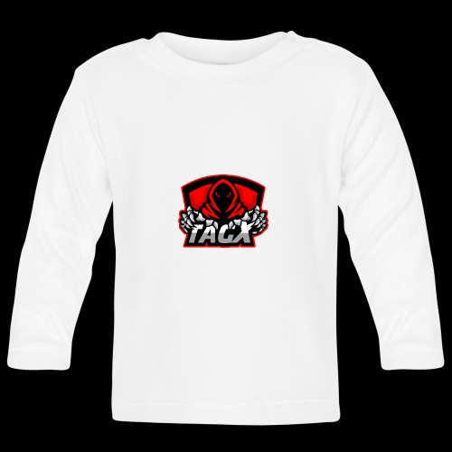 TagX Logo with red borders - Vauvan pitkähihainen paita
