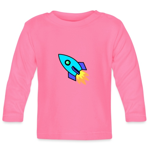 Blue rocket - Baby Long Sleeve T-Shirt