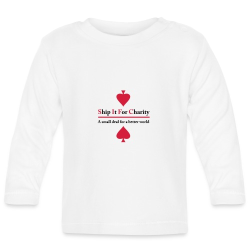 Ship It For Charity - Långärmad T-shirt baby