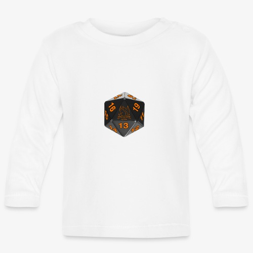 Orange game - Baby Long Sleeve T-Shirt