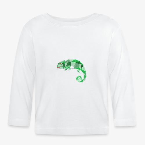 Kameleon - Koszulka niemowlęca z długim rękawem
