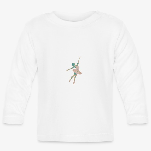 Baletnica - Koszulka niemowlęca z długim rękawem