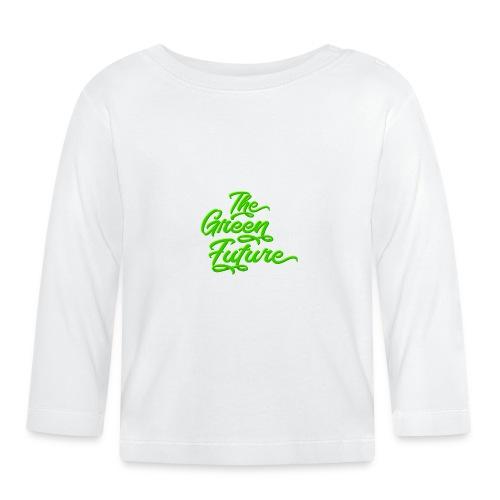 THE Green Future - Typo - Baby Langarmshirt