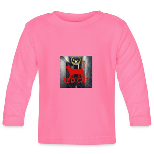 Red Cat (Deluxe) - Baby Long Sleeve T-Shirt