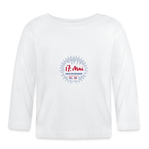17. mai T-skjorte - Det norske plagg - Langarmet baby-T-skjorte