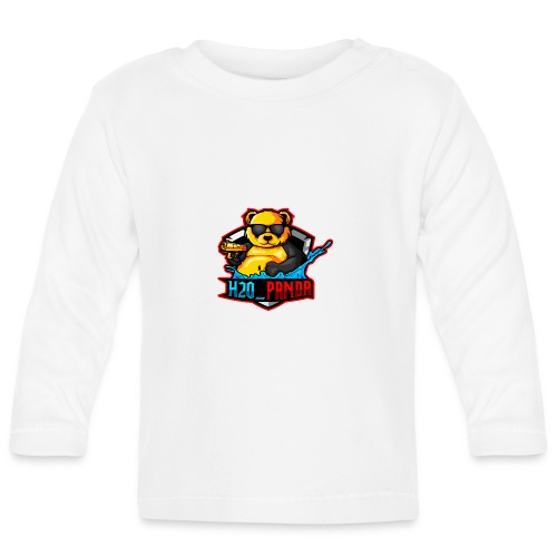 Pandas Loga - Långärmad T-shirt baby