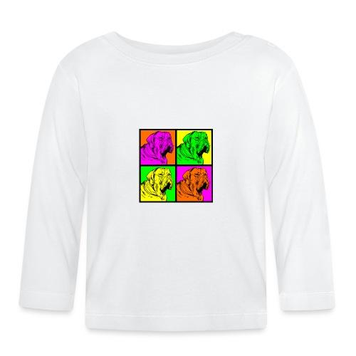 Bouledogue Anglais Couleur - T-shirt manches longues Bébé