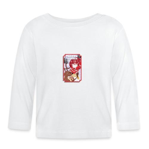 happy winter2 - T-shirt manches longues Bébé