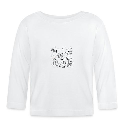 winter tafereel - T-shirt manches longues Bébé