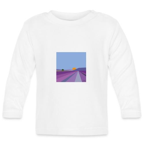 Lavender - Baby Long Sleeve T-Shirt