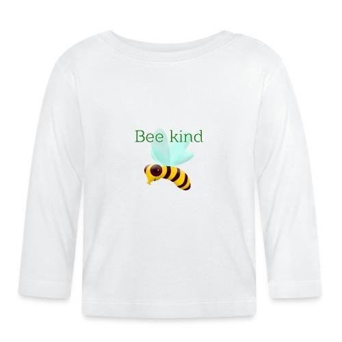 Bee kind - Camiseta manga larga bebé