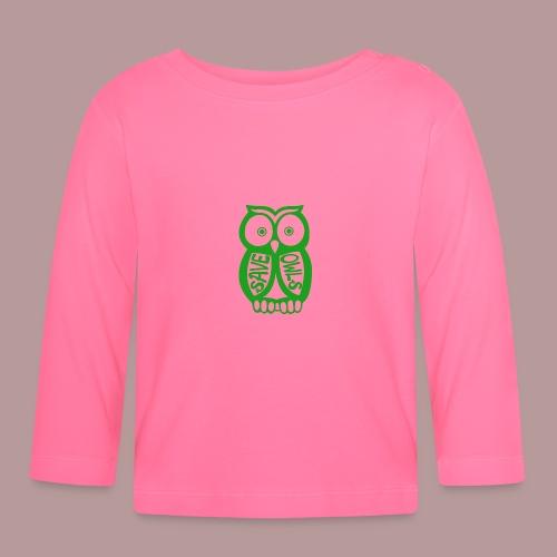 Save owls - T-shirt manches longues Bébé