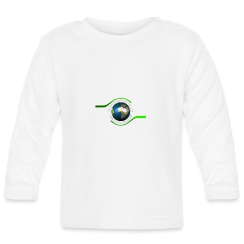 LOGO white font - Baby Long Sleeve T-Shirt