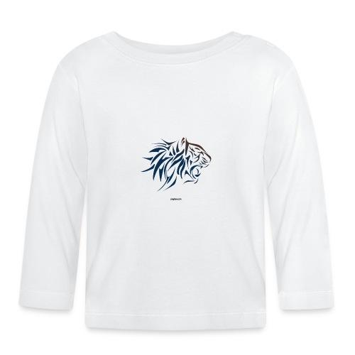 tiger vector - Camiseta manga larga bebé