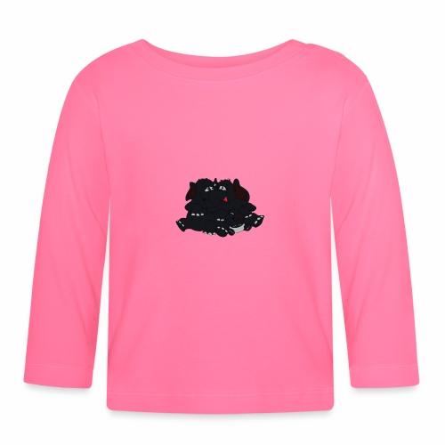Black Big Family - Baby Langarmshirt