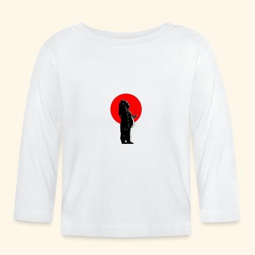 Coffee time & Gorilla - T-shirt manches longues Bébé
