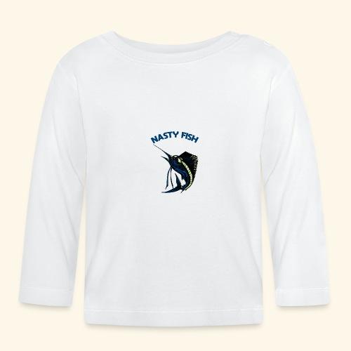 Nasty Fish - Voilier - T-shirt manches longues Bébé