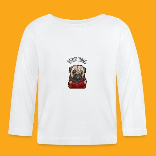 Stay cool Mops - Baby Langarmshirt