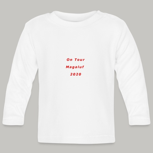 On Tour In Magaluf, 2020 - Printed T Shirt - Baby Long Sleeve T-Shirt