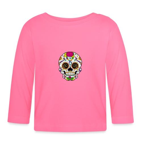 skull3 - Maglietta a manica lunga per bambini