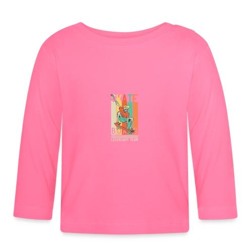 Skateboard 10 - Maglietta a manica lunga per bambini