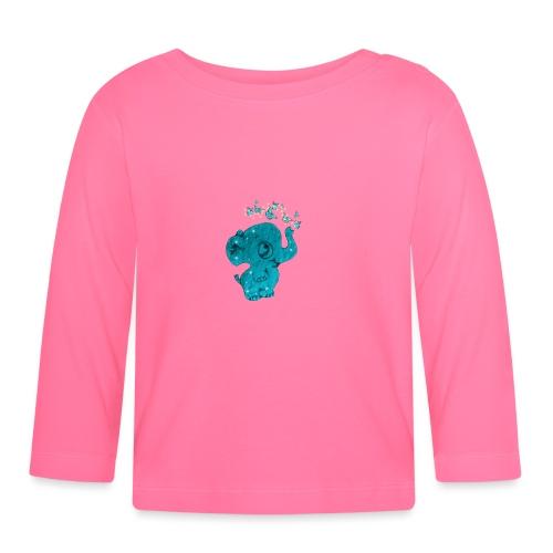 Elefante - Maglietta a manica lunga per bambini