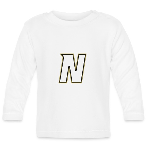 Nordic Steel WHITE N - Baby Long Sleeve T-Shirt
