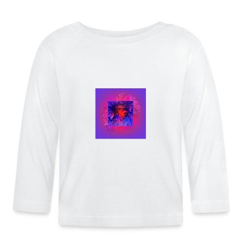 Tropical Summer Nights - Baby Long Sleeve T-Shirt