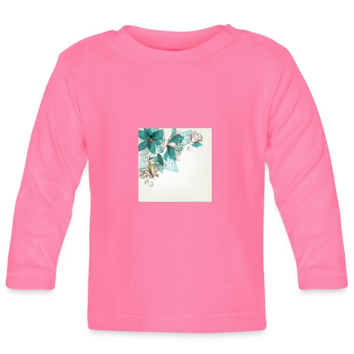 Tropical Flora - Baby Long Sleeve T-Shirt