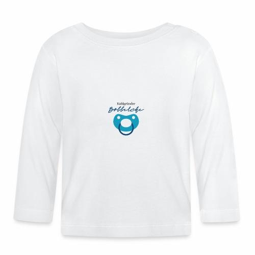 Kahlgruender Bobbelche - Jungs Blau - Baby Langarmshirt