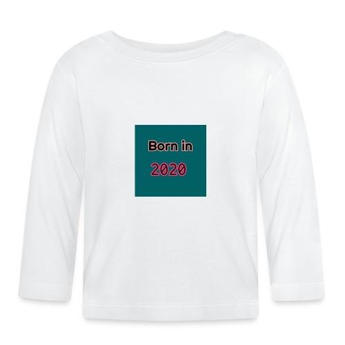 född 2020 - Långärmad T-shirt baby