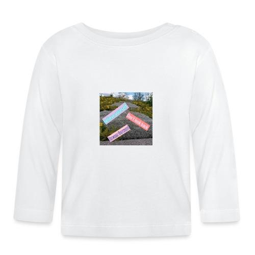 believe yourself - Långärmad T-shirt baby